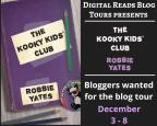 Blog Tour – The Kooky Kids Club by Robbie Yates