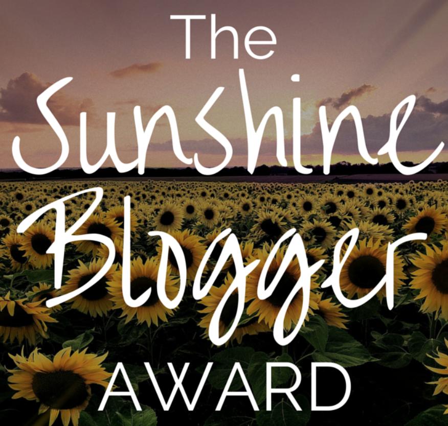 SUNSHINE BLOGGER AWARD 2019