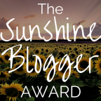 SUNSHINE BLOGGER AWARD 2019